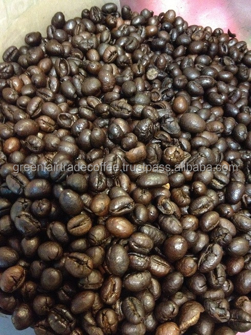 Roasted Culi Coffee Beans with Fairtrade Certification