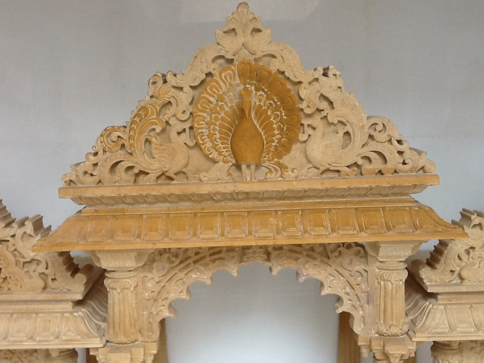 Indian Stone Church Temple Super White Marble Mandir For Home ...