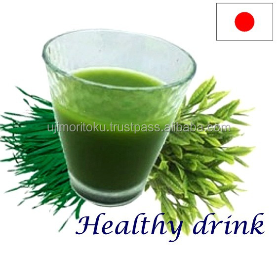 Healthy and Premium mixed drink Aojiru green juice for pastry , small lot order available