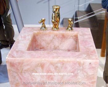 bowl oval white porcelain item ceramic sink blue basin and vanity countertop bathroom wash