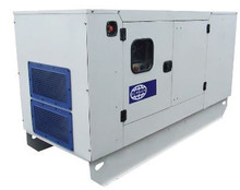 Generator Set. 165/150 KVA. With sound proof Canopy. Made in Europe.