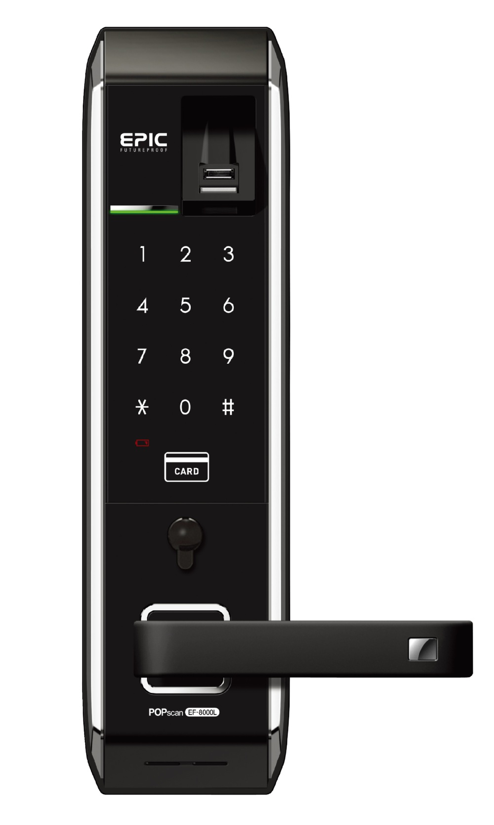 Korea Keyless Electronic Digital Door Lock Epic Ef 8000lr