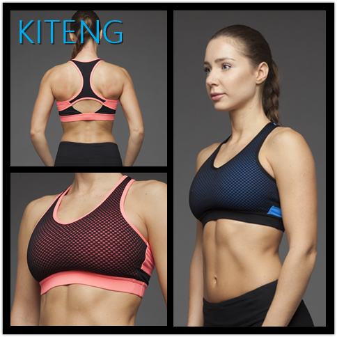 Kiteng (ODM/OEM Factory)Women Wholesale Sports Bra with mesh Bra Yoga Fitness Sports Bra Office In United States (USA)