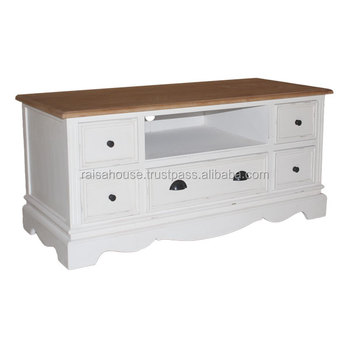 Indonesia Furniture Shabby Chic-York TV Cabinet