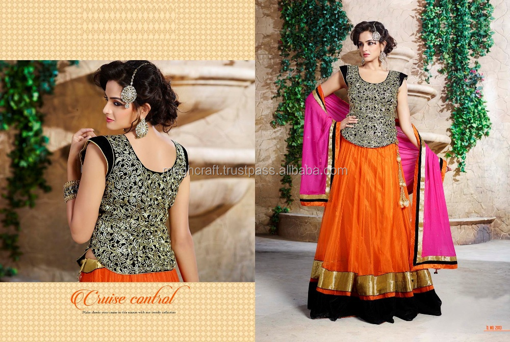 Wholesael Indian Bollywood Fashion Bridal Saree Lehenga Choli Wedding Wear Ethnic