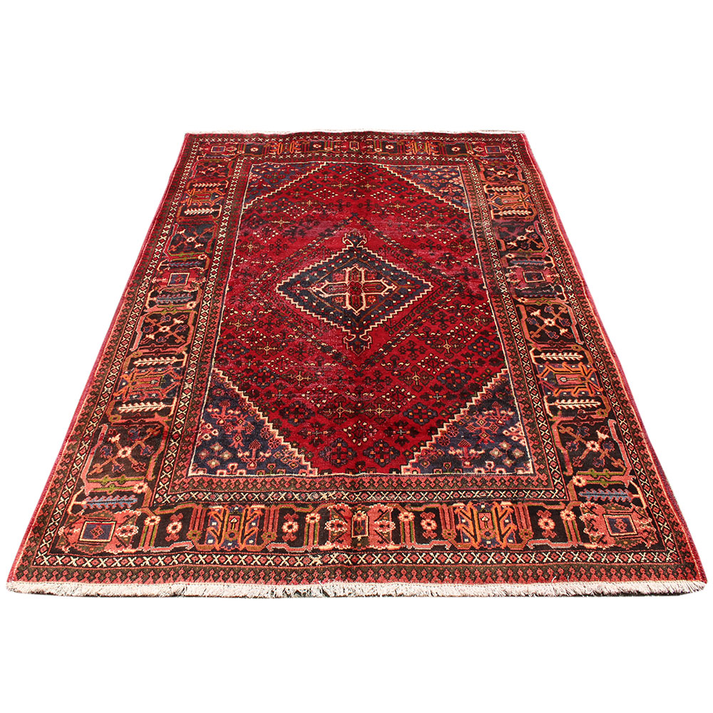 Used Hand Knotted Persian Rug Vintage