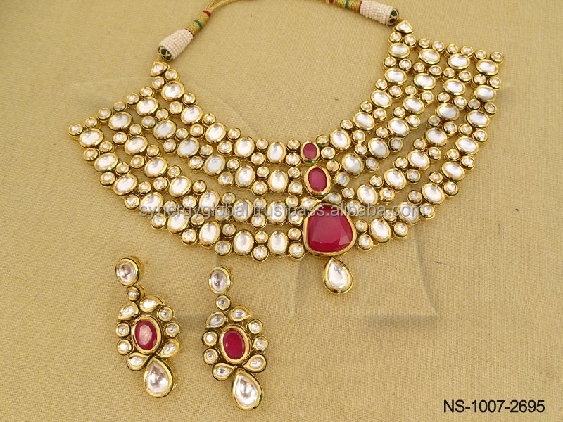 Indian Jewellery Bridal Bollywood Party Wedding Gift Necklace Set