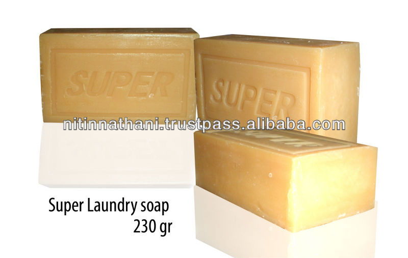 Super Laundry Soap 200 Grams {Naked & Unfragranced}