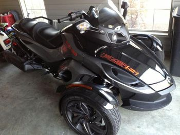 Spyder Rt S Sm5 Motorcycle Can Am Rt Manual Bike 3 Wheel Trike Brp