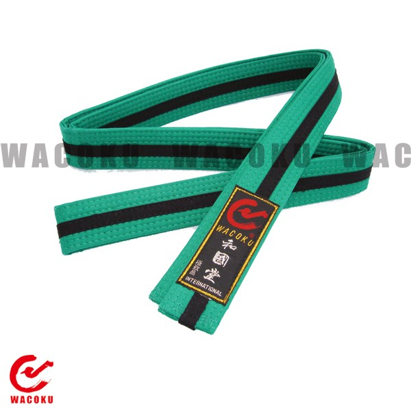 taekwondo karate judo color belt/ 100% cotton color belt/ martial arts  training equipment