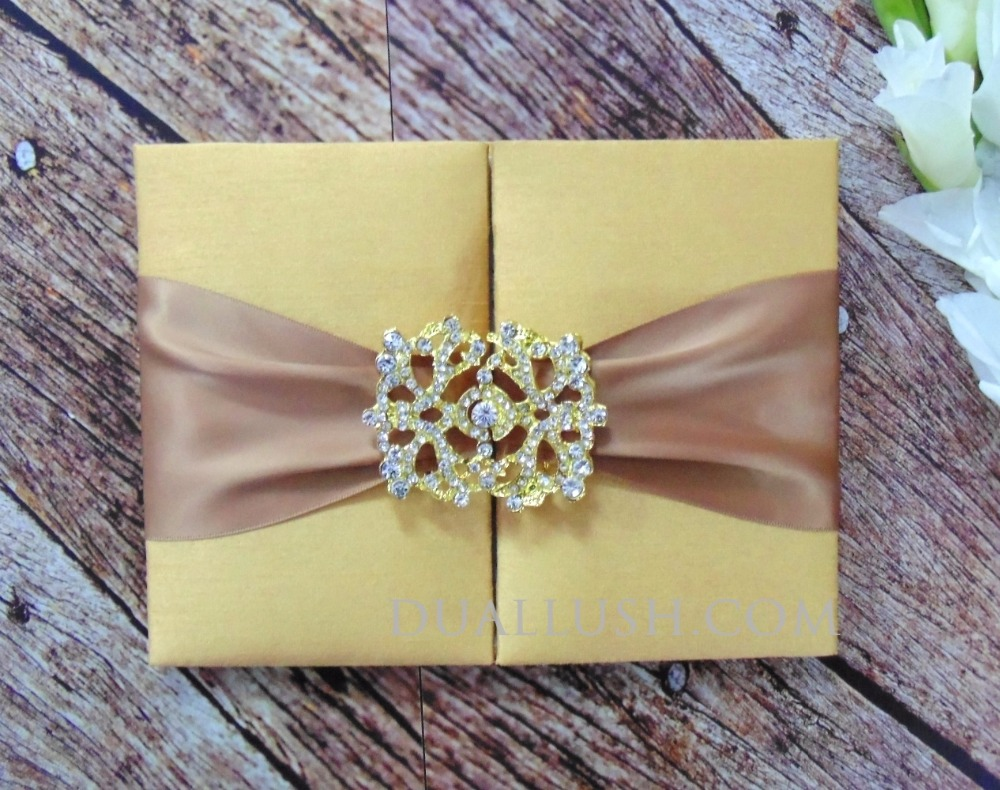 Silk Wedding Invitation Folio Supplieranufacturers At Alibaba