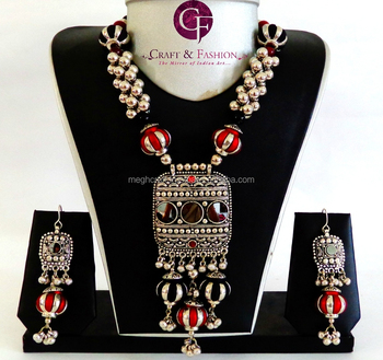 03ce98f936b Navratri wear Wholesale Indian vintage Oxidized jewellery-Online lot  Banjara Jewelry-2016 fashion wear