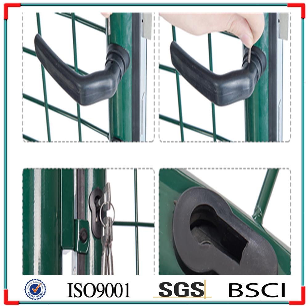 Hot Sale Cheap Wrought Iron Gates, Metal Garden Gates