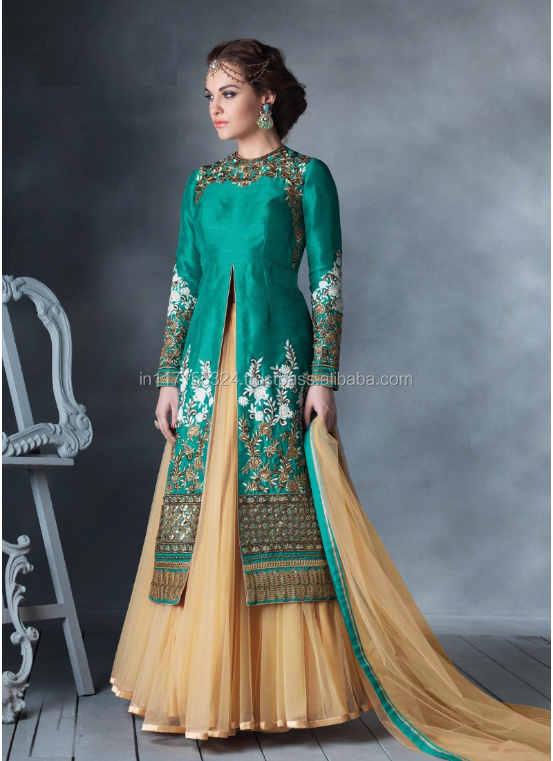Indian Bridal Anarkali Suits\heavy Work Anarkali Salwar Kameez ...