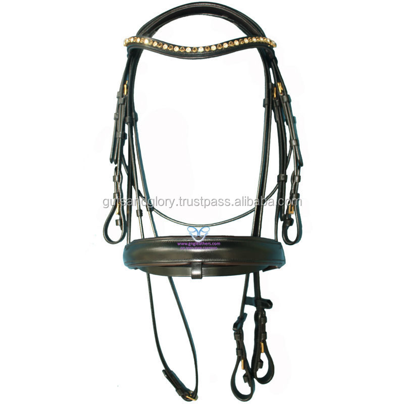 Diamante Snaffle Bridle