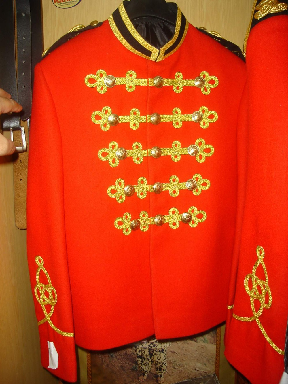Royal militaire jas RMLI tuniek marching band uniform Britse uniform