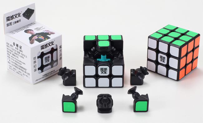 Moyu Hualong 3x3x3 Speed Cube Black