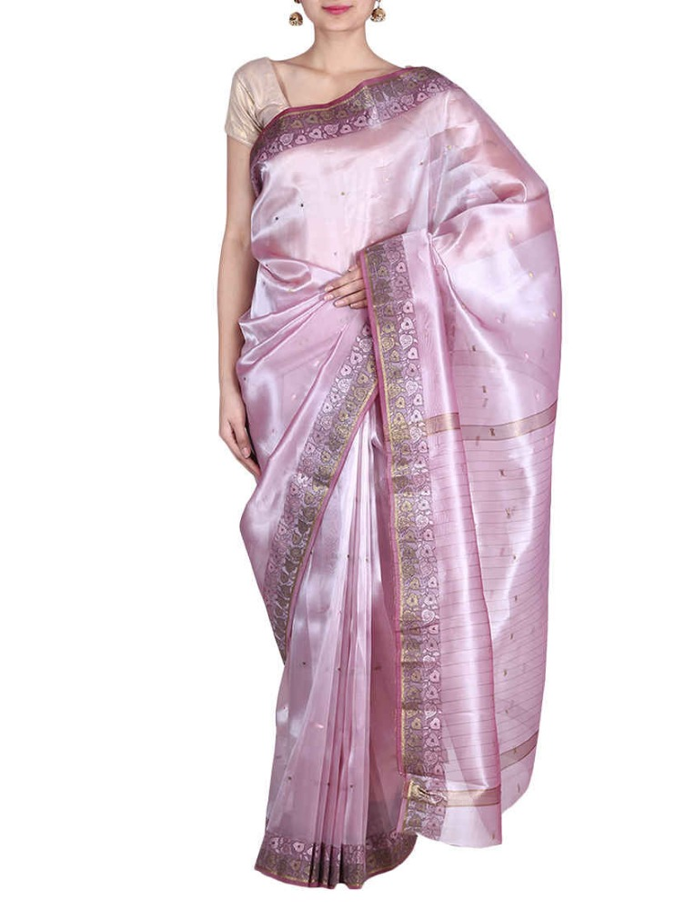 Designer Fancy Zari Work Tissue silk Saree Sari
