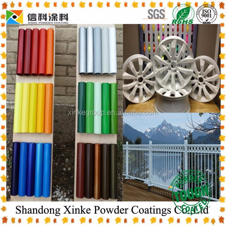 Pure Polyester Resin Powder Coating / Outdoor Electrostatic Powder Coating