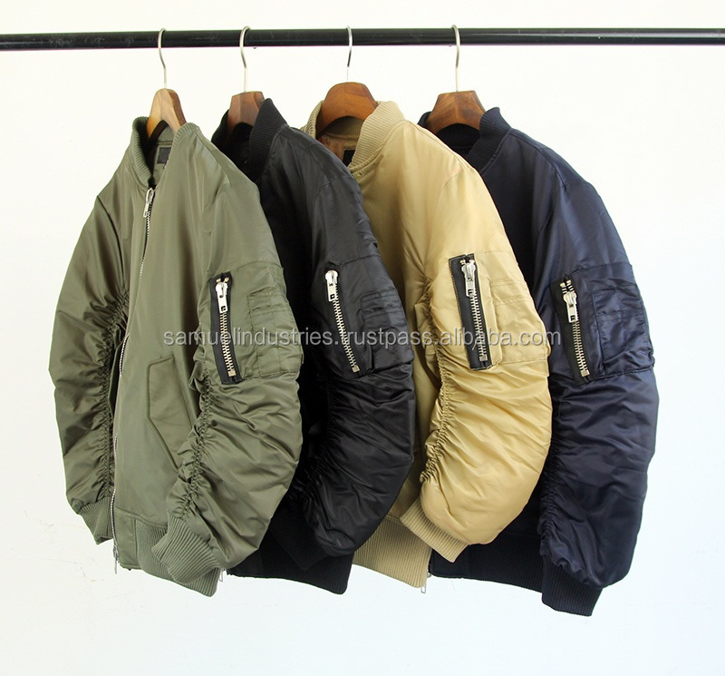 Custom Made Flight Jacket Bomber Jacket\custom Made Hot Sale Man ...