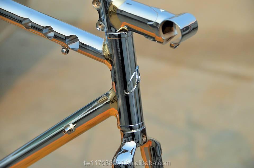 Chrome Moly Steel Brazing With Lug Frame Set - Buy Chrome Moly Steel ...
