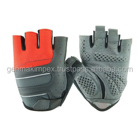 gym gel half Finger Men Cycling Gloves Slip mtb bike/bicycle racing sport breathable shockproof