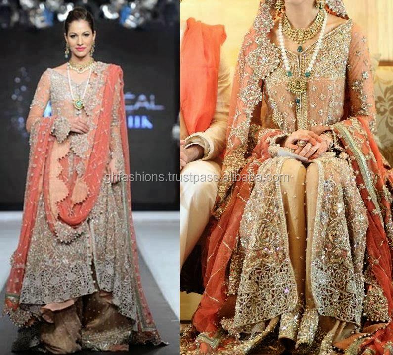 d3d7ec4c7a 2016 Pakistani Bridal Sharara Wedding Dresses - Buy 2016 Pakistani ...