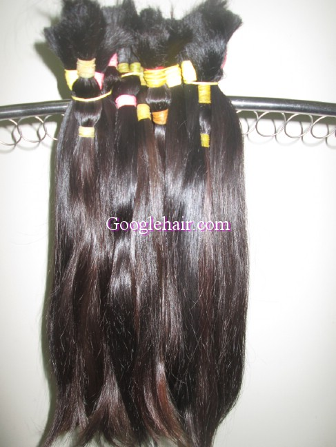 Original Virgin Viet Nam Human Hair Natural Bulk Hair Black Hair