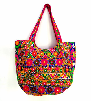 Vintage style handbag - Indian Gypsy tribal embroidered shoulder bag - Wholesale online buying handbag - 1ffba4a9096fe