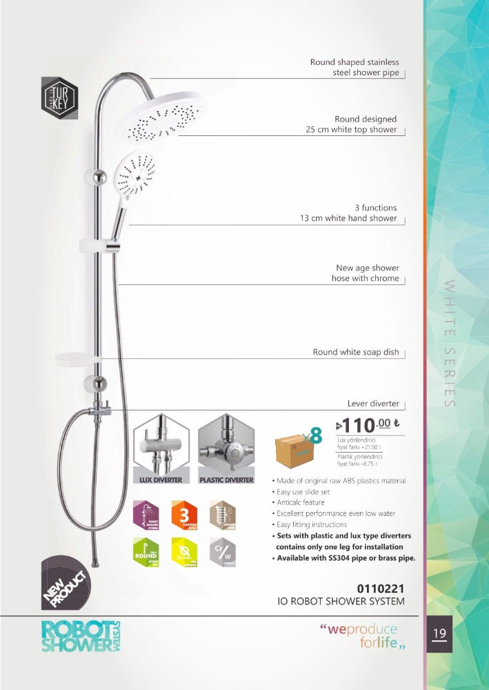 Io Shower Systems