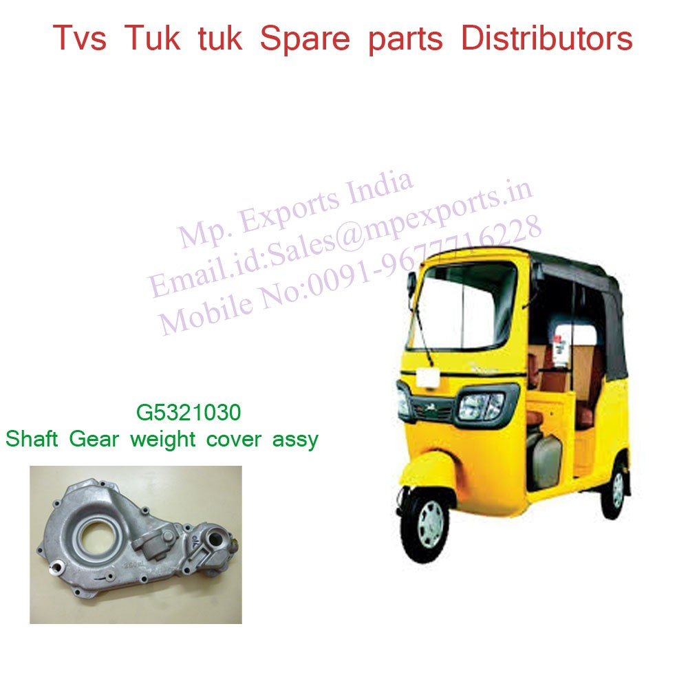 Open Type Auto Gearbox Cover Spare Parts Tvs King Buy Tuk Tuk