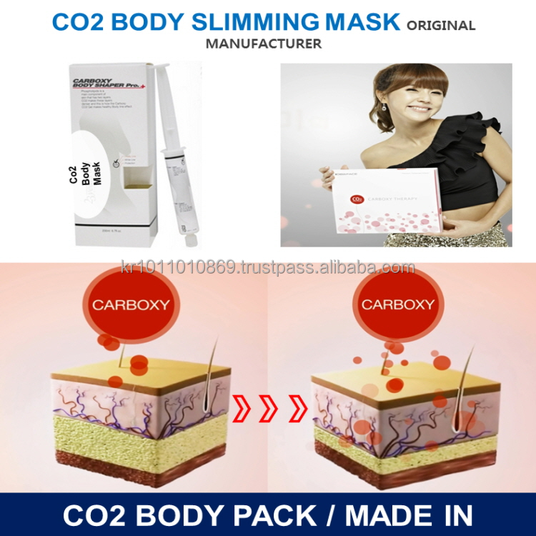 Anti Cellulite Co2 Gel body mask_Body Slimming Gel