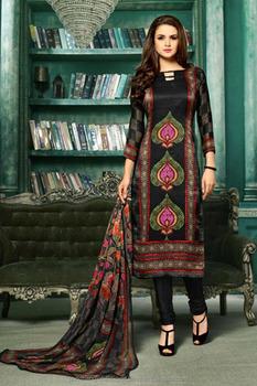 faa0b905bd Rayon Cotton Salwar Suit Wholesale Unstitched Salwar Suit Above Knee Length  Straight Cut Salwar Kameez