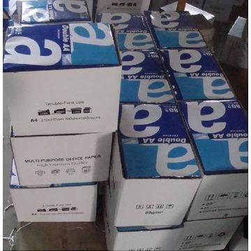 A4 copy paper 80gsm Double A brand factory directly sale