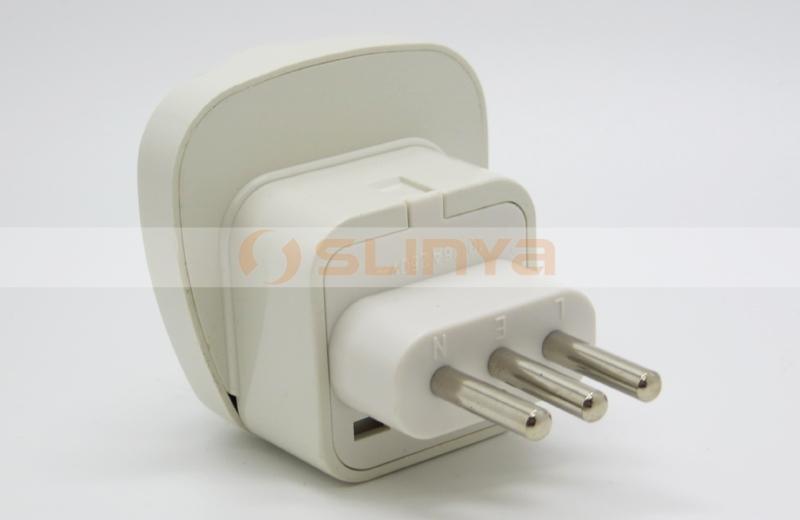 Germany / France /eu Plug Socket To Uruguay Italy Power Adapter ...