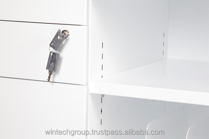 Malaysia High Quality File Cabinet Office Furniture Steel Filing Cabinet  Caddy With Open Shelf