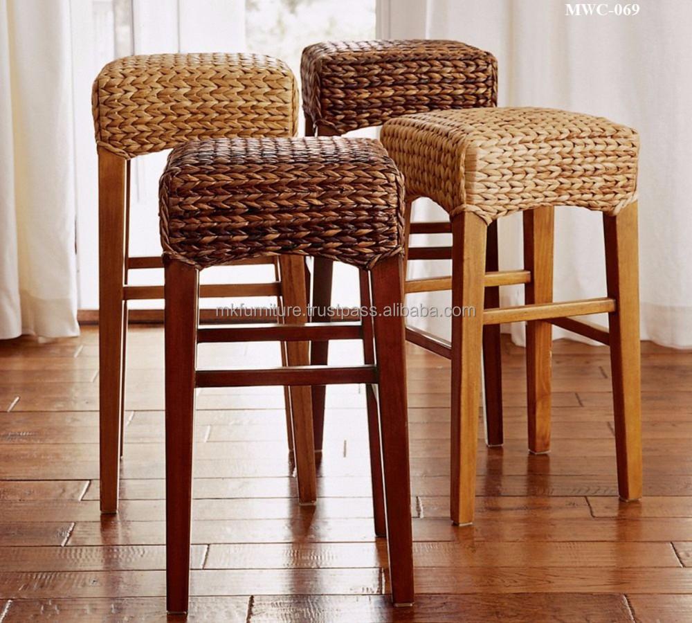 Wicker Rattan Furniture Dining Set