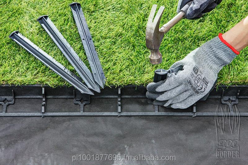 Borde de jard n de pl stico frontera de adoqu n grass for Borde plastico para jardin