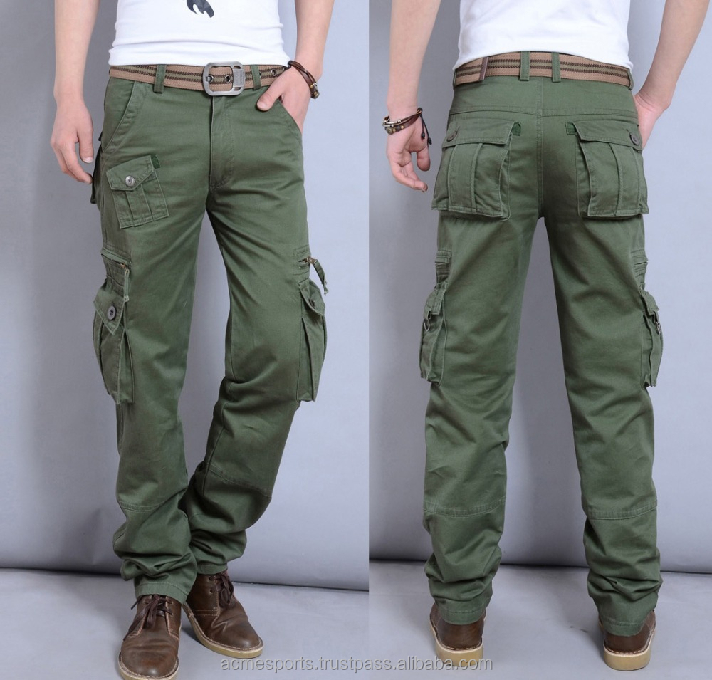 Cargo Pants - High Quality Grey Sweatpants For Men Pants Cargo ...