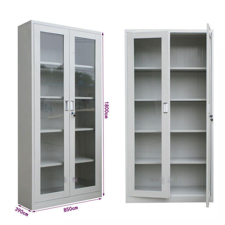 Steel inner safe glass doors filing cabinet malaysia metal for Aluminium kitchen cabinets in chennai