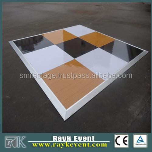 Best Portable Wooden Dance Floor Distressed White Wood Flooring