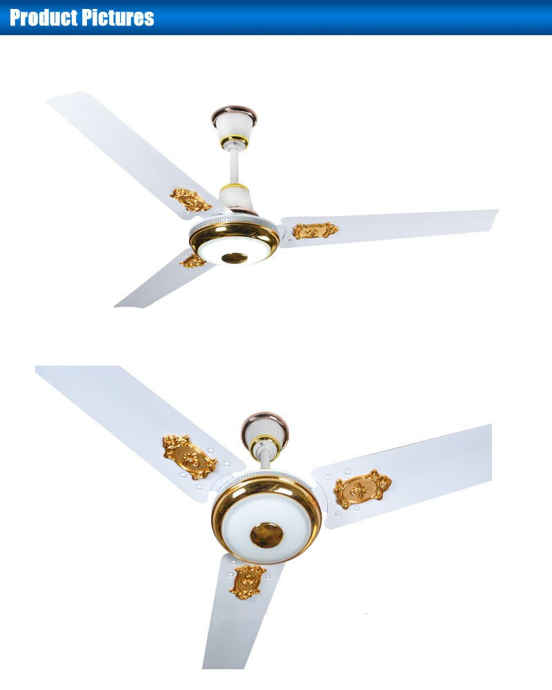 "Guangdong Foshan High Quality Ceiling Fans With Dc: Factory Direct 56"" Solar Dc Ceiling Fan Purpose Ceiling"