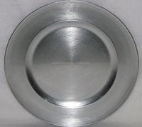 aluminum cast antique charger plates