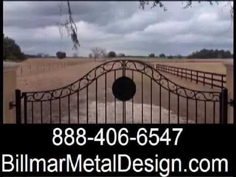 Wrought iron railings 1D, wrought iron gate design, Orname