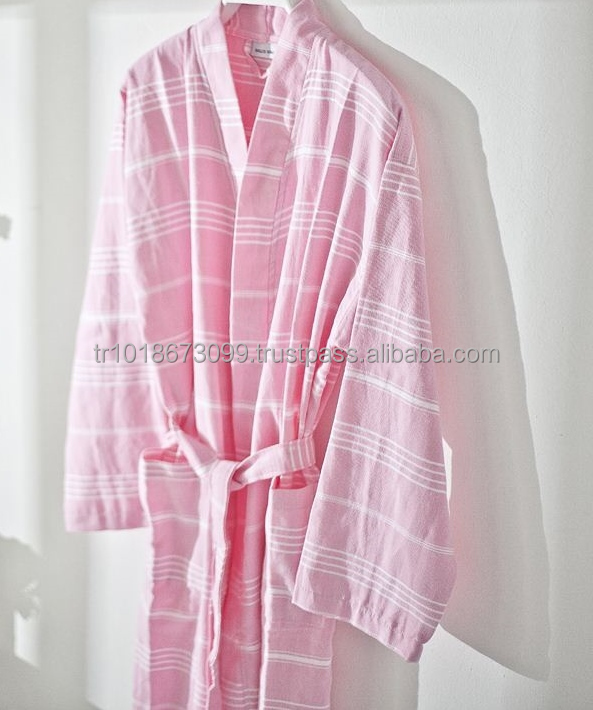 01963b4550 Turkish Towel Peshtemal Cotton Robe