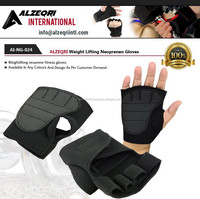 Neoprene Hand Grip Pads / Gym Fitness Neoprene Grip Gloves Black Easy Fit