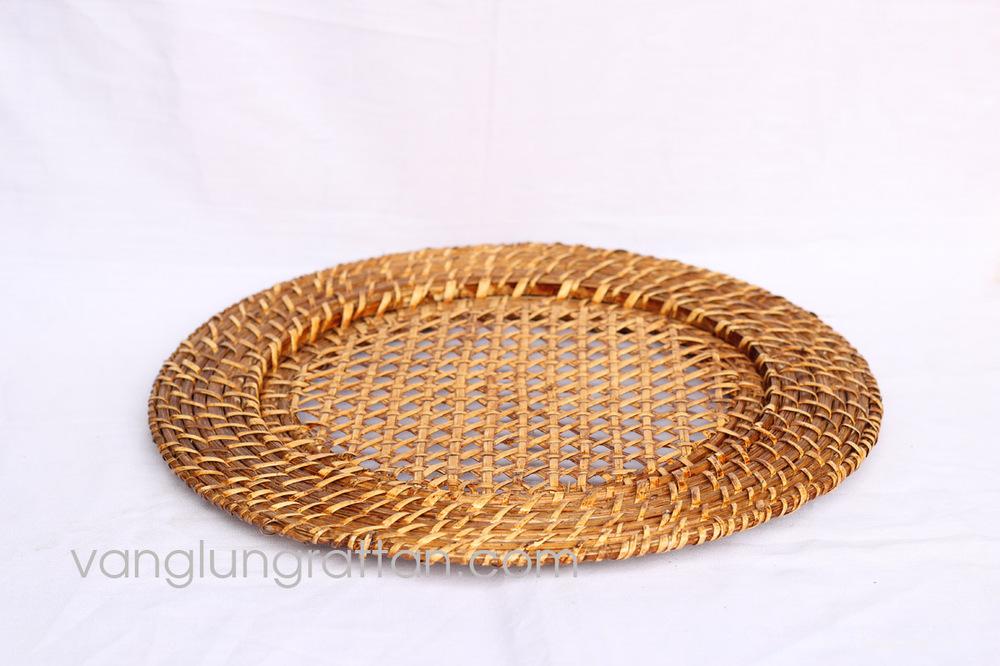 Bamboo Rattan Charger Plate & Bamboo Rattan Charger Plate - Buy Bamboocharger PlateGold Charger ...