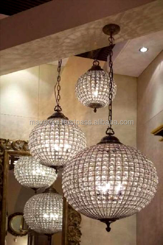 Crystal ball ceiling lampround crystal ball pendant light buy crystal ball ceiling lamp round crystal ball pendant light mozeypictures Gallery