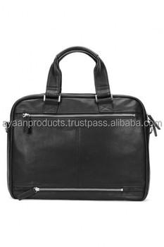 Soft Rugged Men Leather Laptop Bag Ap 5101