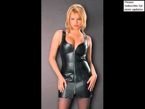 Leather Dresses | Designer Leather Jackets & Clothing Pictures For Women